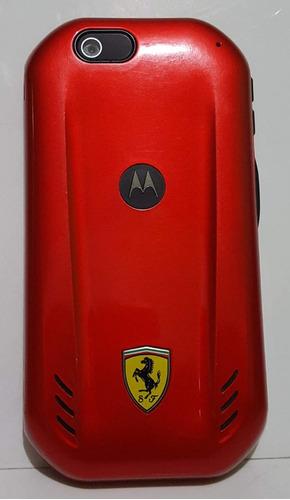 nextel ferrari original (motorola i867) edición limitada