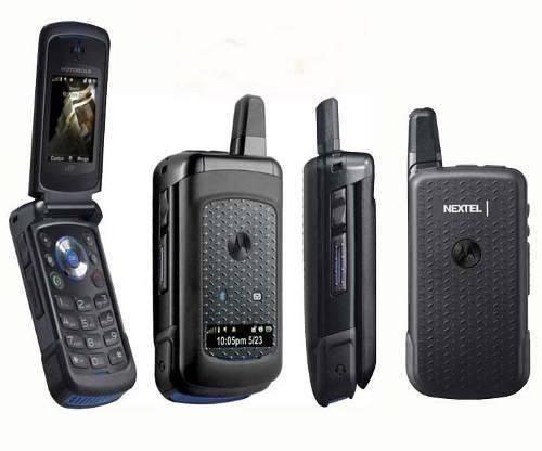 nextel handy radio i576 mini goma resistente bateria carga +
