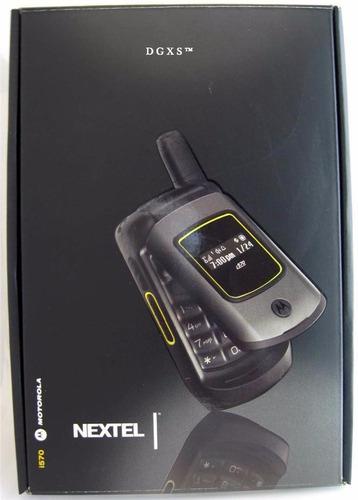 nextel i570 libre abono prepago sms llamada radio nuevo 0km