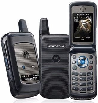 nextel i576 gris black en caja original con holder libre sms