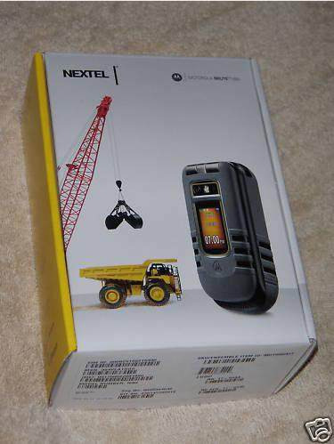 nextel i686 black  nuevo modelo brute i680 estado 9,6 negro