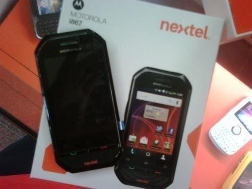 nextel i867 exelente en caja legal libre radio llamada sms