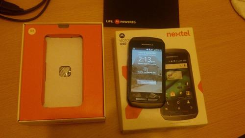 nextel i940 tactil wifii whatsapp facebook redes sociales