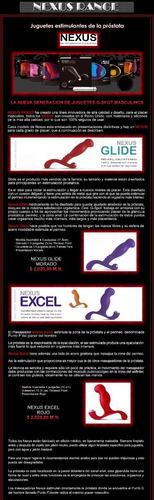 nexus range - estimuladores de próstata descubra su punto p