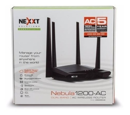 nexxt router n nebula 1200ac wireless 1200mbps