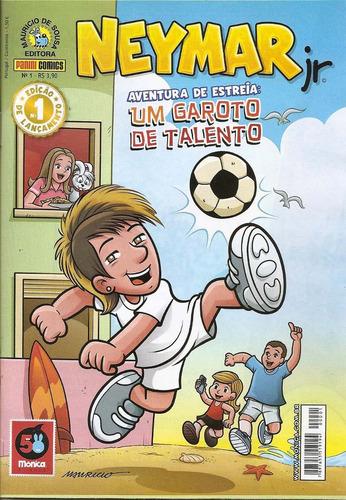 neymar jr.  nº 1  -  aventura de estreia - turma da mônica.