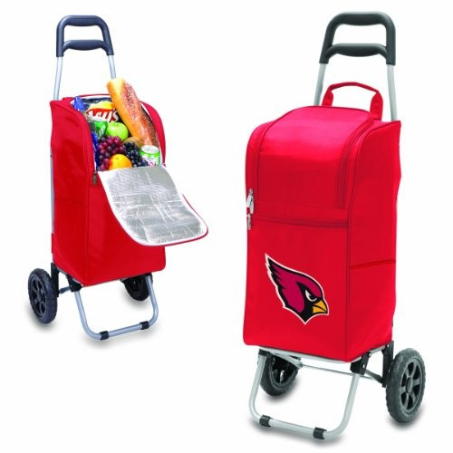 nfl arizona cardinals aisló enfriador del carro con el carro