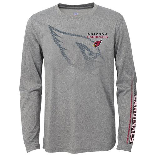 nfl arizona cardinals boys youth interfaz rendimiento tshirt