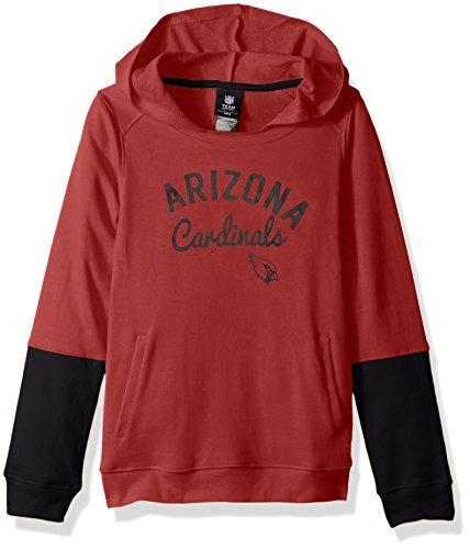 nfl arizona cardinals las niñas 1.818,6 cm game day pullover