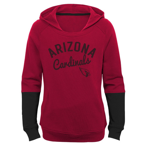 nfl arizona cardinals las niñas 1.818,6 cm game day pullover