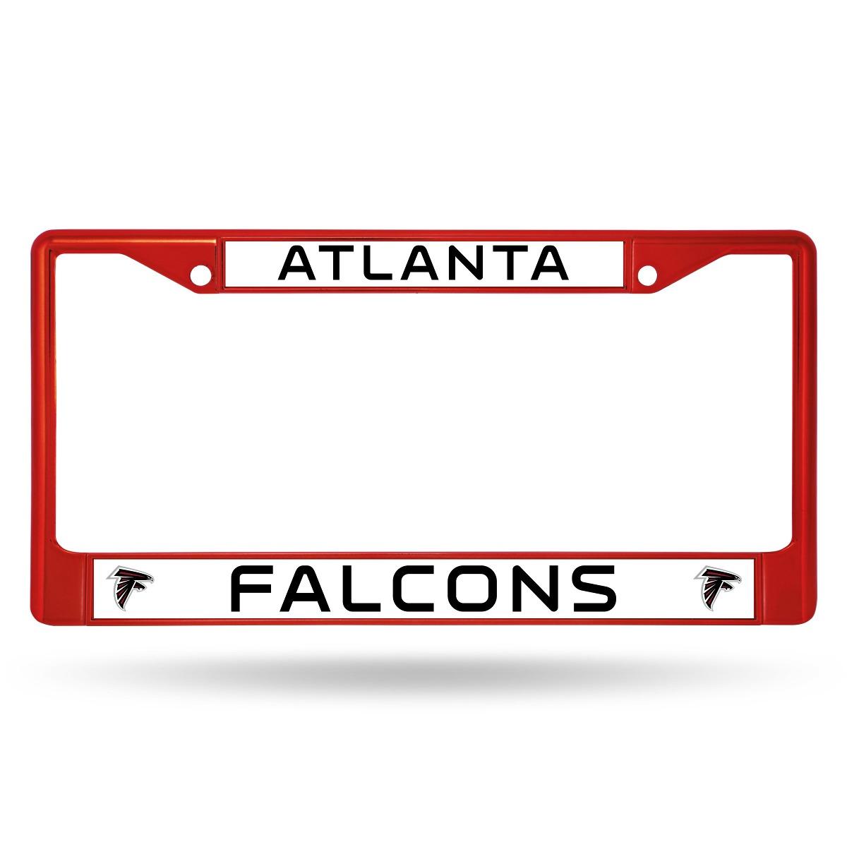 Nfl Atlanta Falcons Cromado Marco De La Placa De Colores, Ro ...