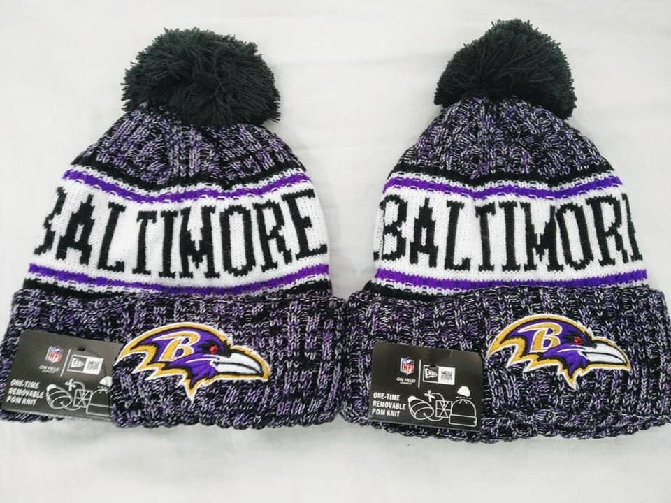 the latest 7b811 efed2 ... spain nfl baltimore ravens knit hat 2018. cargando zoom. 6c571 5320e