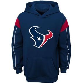 De A Material Nfl 'houston Equipo Boys Texans Con Capucha