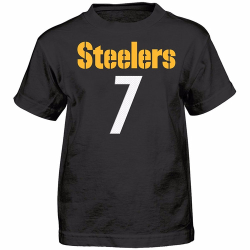 nfl camisa tipo jersey acereros pittsburg talla s 4 a 7 años
