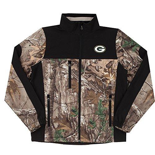 nfl chaqueta con estilo cazador, realtree camuflaje (camufla