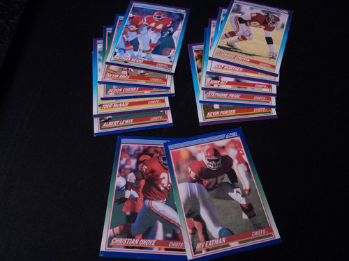 nfl chiefs fan_22tarjetas set team-norepetidas,10&12