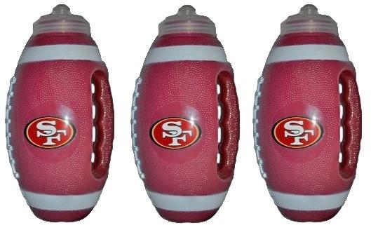 Nfl Cilindros En Forma De Balón San Francisco 49ers (3 Pza ... a6f4325b89b