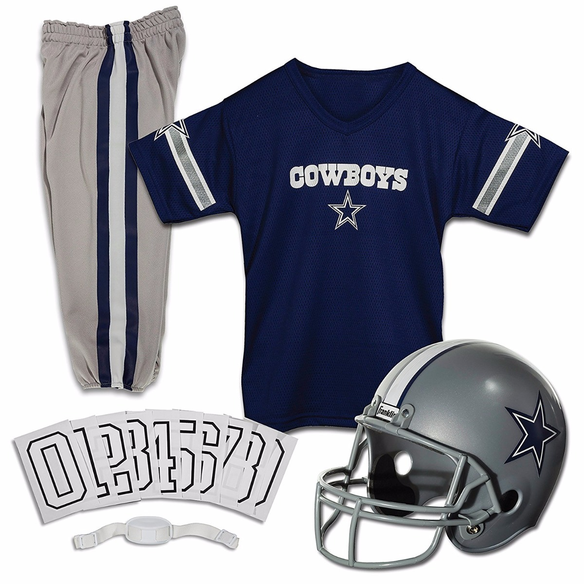 12bd45c23be37 Nfl Dallas Cowboys Jersey Uniforme Niño-niña -   650.00 en Mercado Libre