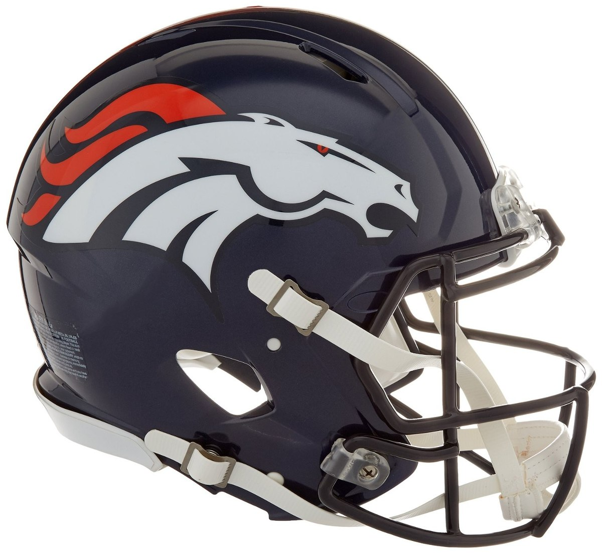 Nfl Denver Broncos Speed Auténtico Casco De Fútbol Americano ... 6a6b02d03a3