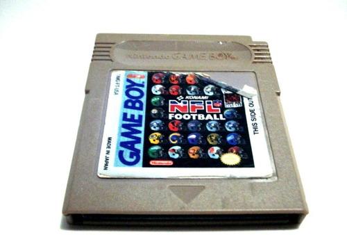 nfl football original game boy classic / color / advance