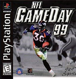 nfl gameday 99  play ps1 ps2