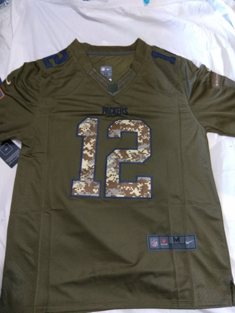 nfl green bay packers aaron rodgers12 nfl salute to service. Carregando  zoom. 0bb6d35e3ecfa