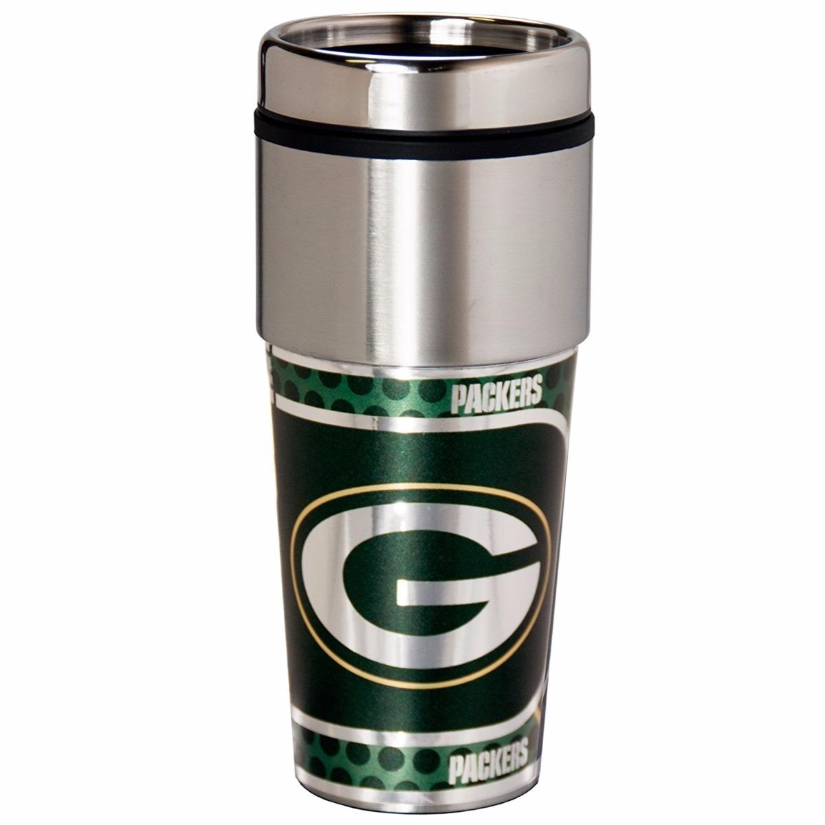 Nfl Green Bay Packers Termo Acero Inoxidable 16 Onzas -   697.00 en ... 2eefe04f8ce