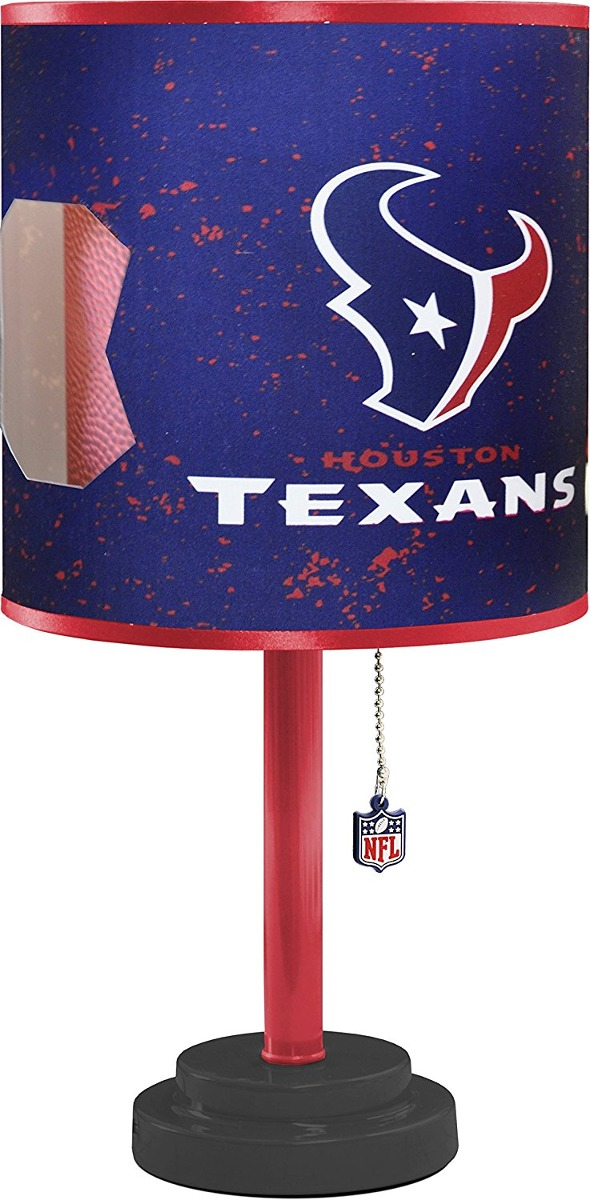 Nfl houston texans table lamp with die cut lamp shade 153250 cargando zoom aloadofball Images