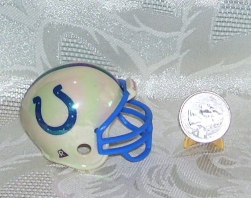 nfl indianapolis colts casco cromado riddell