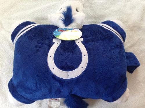 nfl indianápolis colts potros almohada mascota
