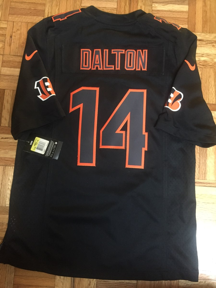 New Nfl Jersey Cincinnati Bengals Dalton Limited $ 1,349.00 en Mercado  hot sale