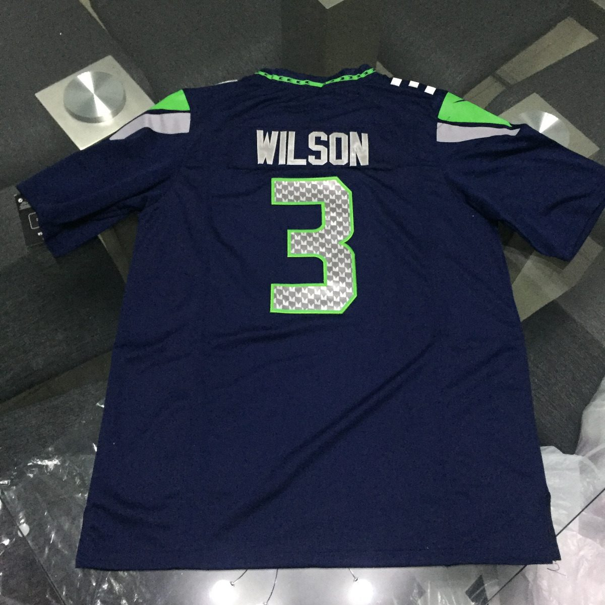 official photos 24daf 6b18a Nfl Jersey Hombre Russell Wilson Seattle Seahawks