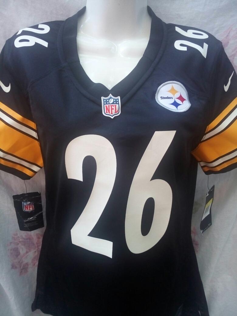 5c112109cd6 Nfl Jersey Mujer Pittsburgh Steelers Le veon Bell -   599.00 en ...