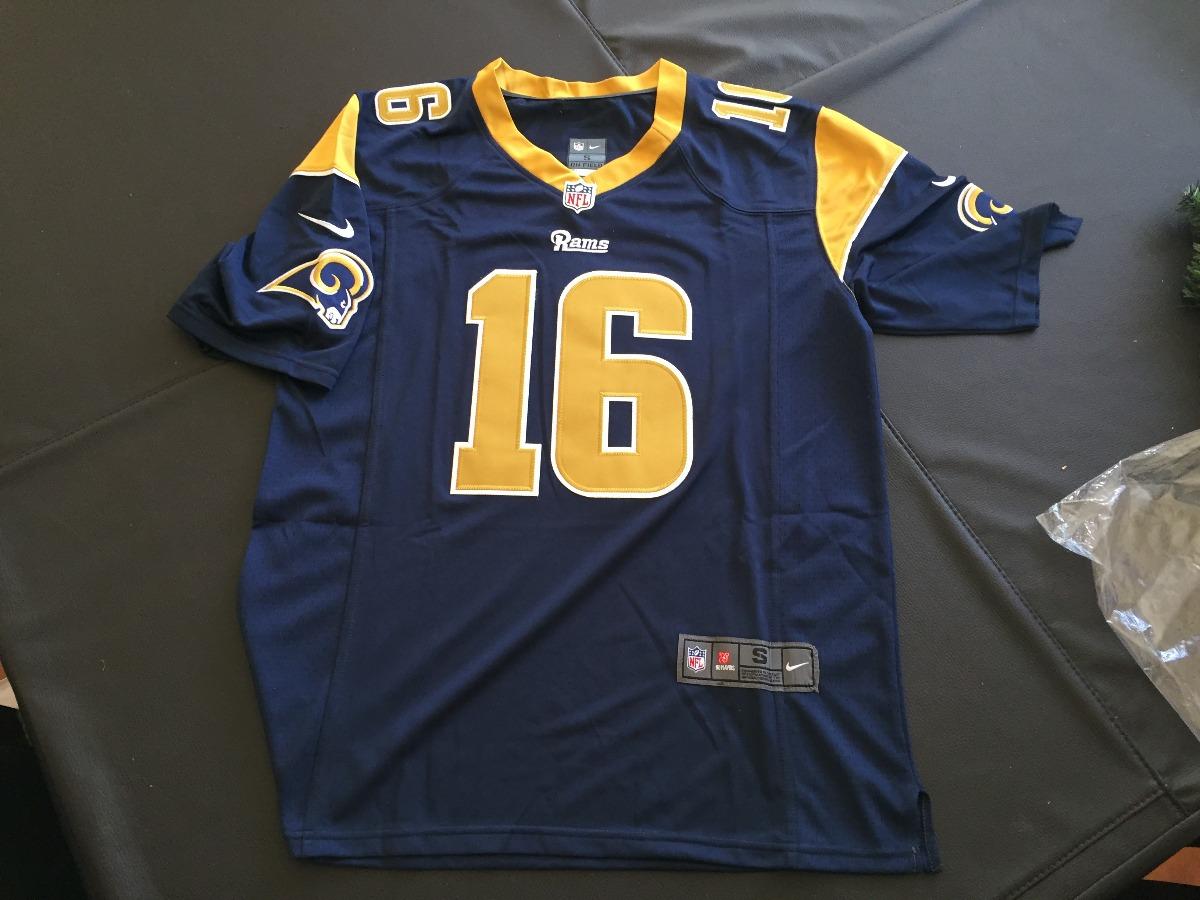 22696d7d5 Nfl Jersey Oficial Hombre Jared Goff Los Angeles Rams -   999.00 en ...