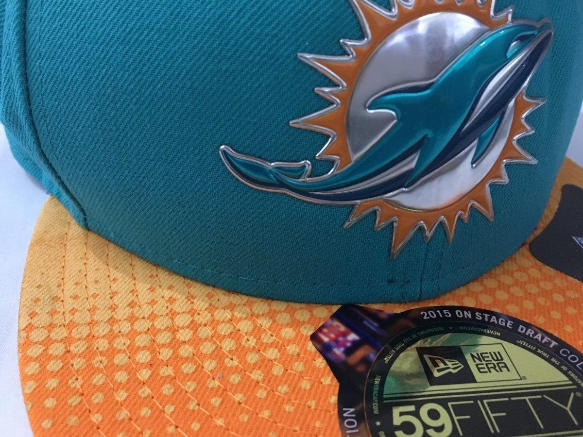 Nfl Miami Dolphins Gorra New Era Talla 7 7 8 -   620.00 en Mercado Libre cccb6761af5