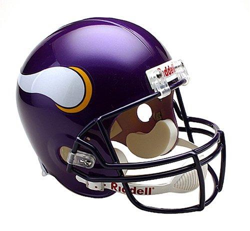 Nfl Minnesota Vikings Deluxe Replica Casco De Fútbol Americ ... 6cfc1323a1d