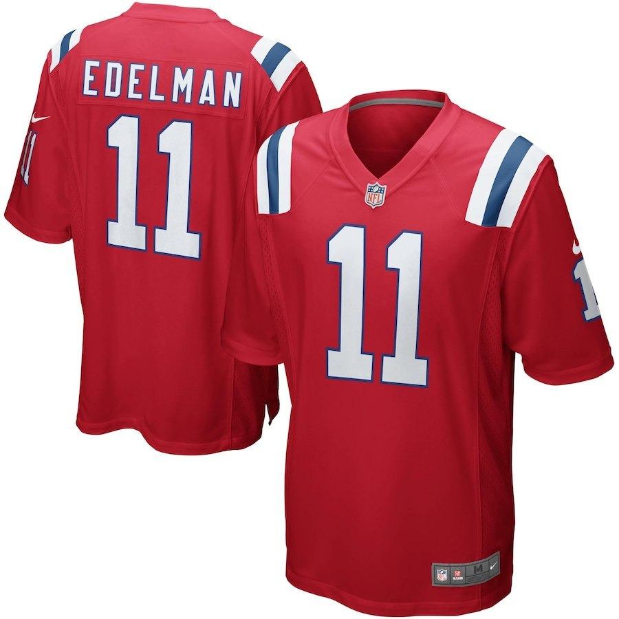36958b4f73 Nfl New England Patriots 1 Futebol Americano  11 Edelman - R  199