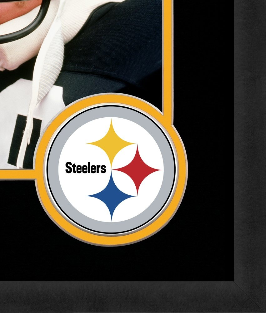 Nfl Pittsburgh Steelers Logo Mat Marcos De Cuadros, Negro, 1 ...
