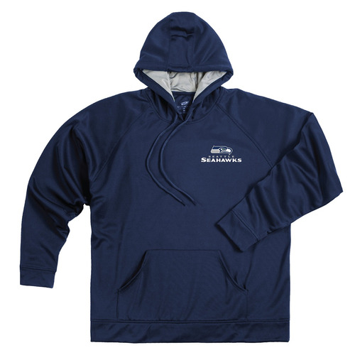 nfl seattle seahawks adulto campeón poliéster tech fleece pu