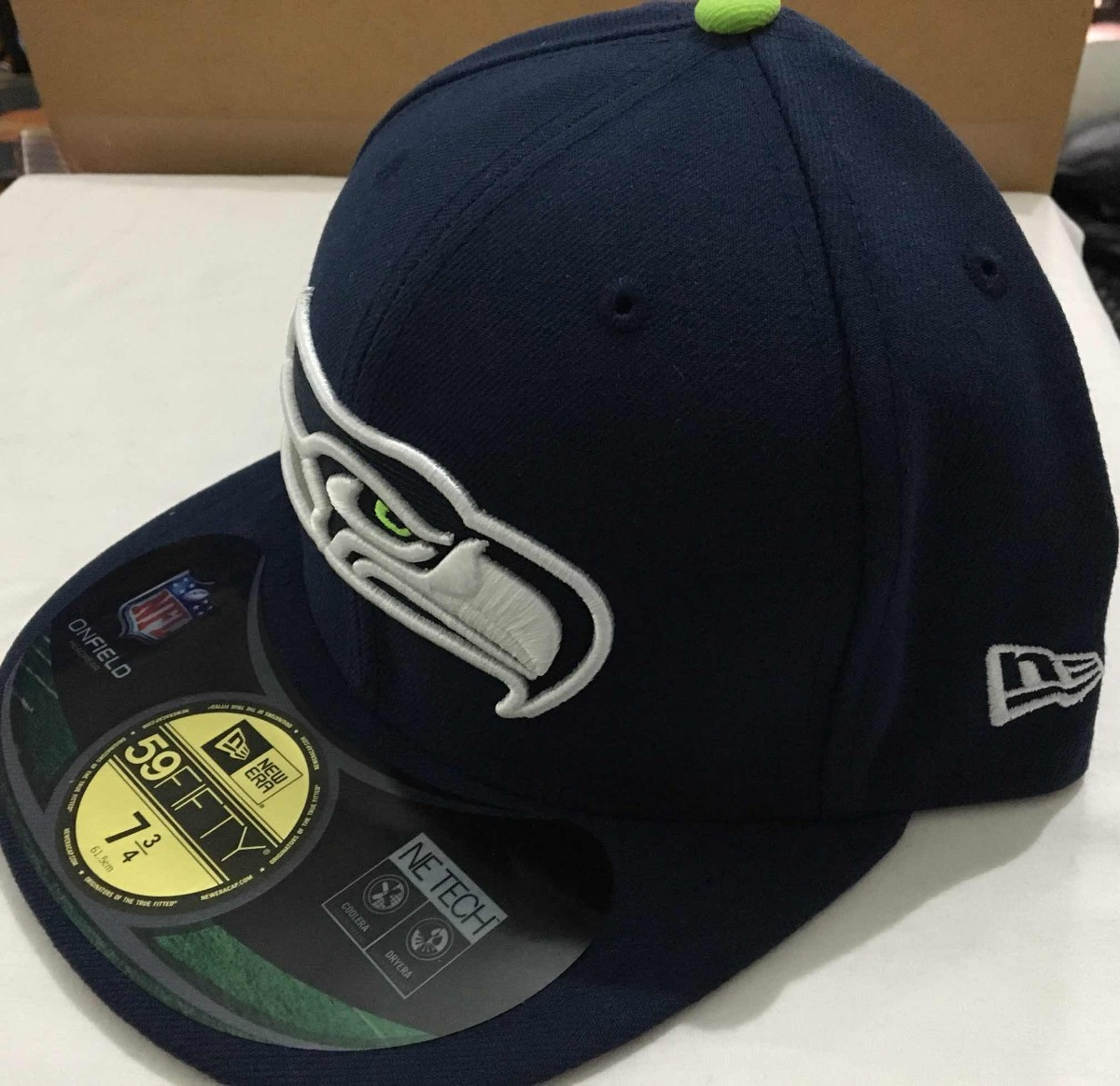 056d5466731ad Nfl Seattle Seahawks Gorra New Era 7 3 4 -   680.00 en Mercado Libre