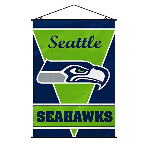 nfl seattle seahawks pelado equipo de banner, talla única),