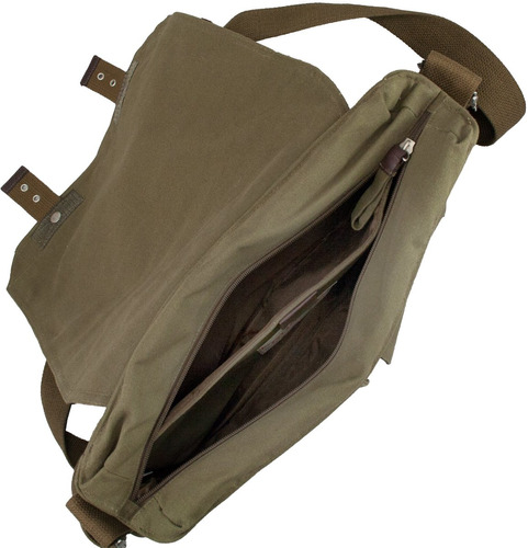 nfl st. louis rams prospect messenger bag, verde