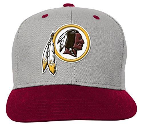 Nfl Washington Redskins Niños Jóvenes Equipo Flatbrim Gorra ... a15e9739004