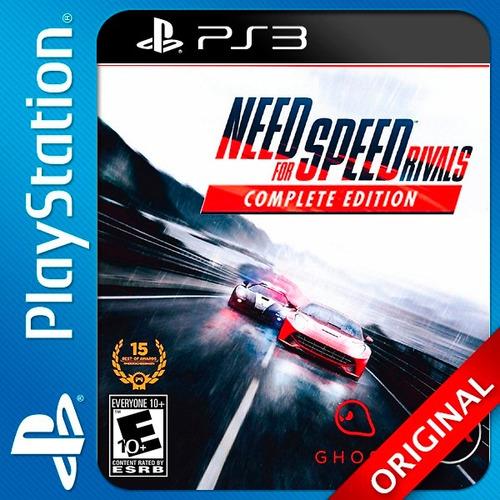 nfs rivals ps3 digital edicion completa oferta!!