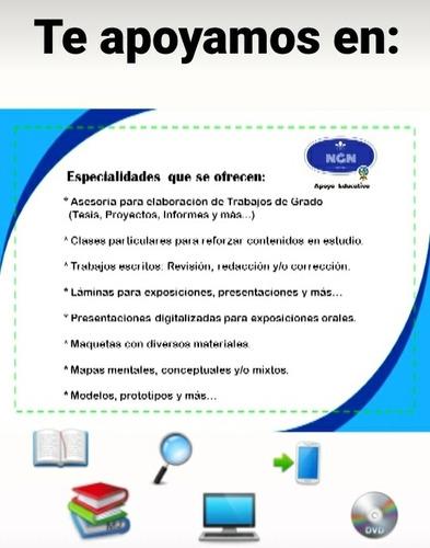 ngn apoyo educativo (asesoría pedagógica a todo nivel)