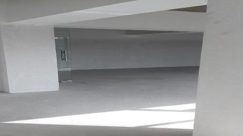 nh oficina en renta en anzures, edificio nuevo