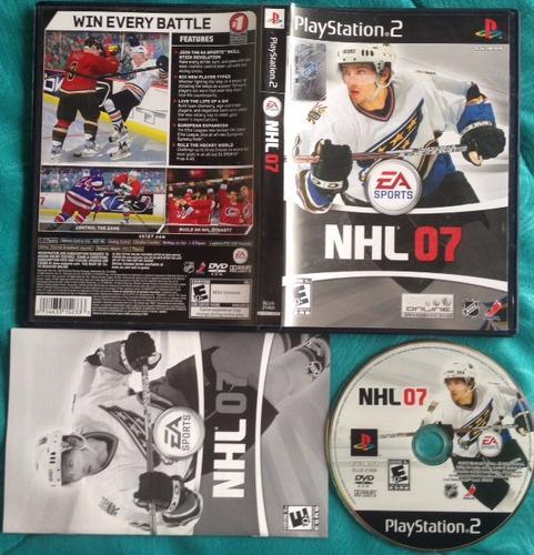 nhl 07 * hockey /  playstation 2 ps2