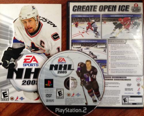 nhl 2005 - hockey / playstation 2 ps2