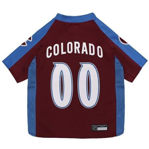 new styles 9eed1 41ef1 Nhl Colorado Avalanche Jersey For Dogs & Cats, Large. - Let