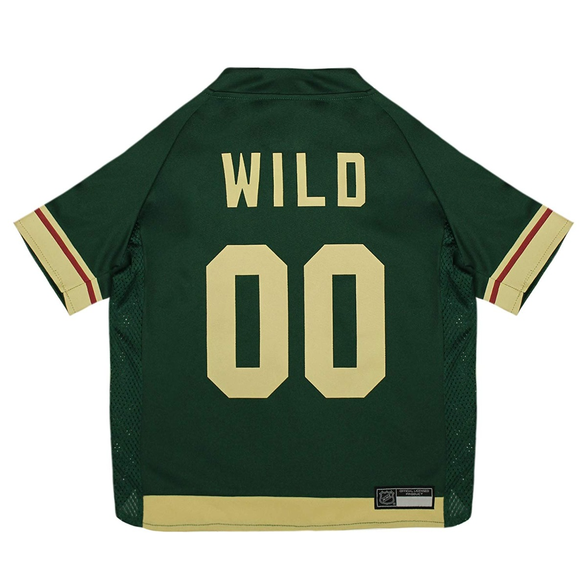 more photos 6295f a632b Nhl Minnesota Wild Jersey For Dogs & Cats, Large. - Let Your